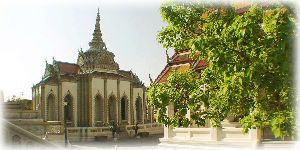 Picture of temple from the Royal Palace in Bangkok